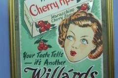 Vintage Willards sign