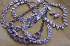 Vintage Purple Necklaces