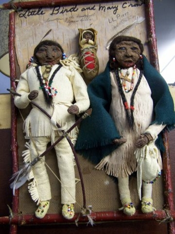 Native Apple Doll Grouping